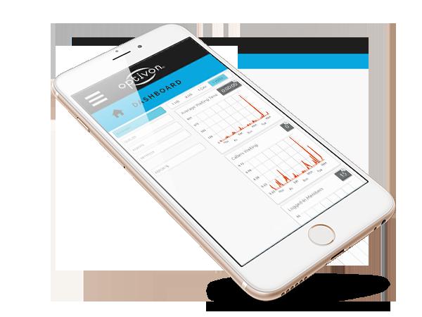 call center mobile app